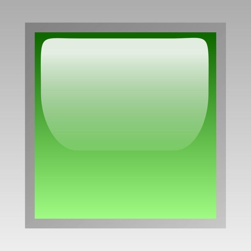 Free led square green
