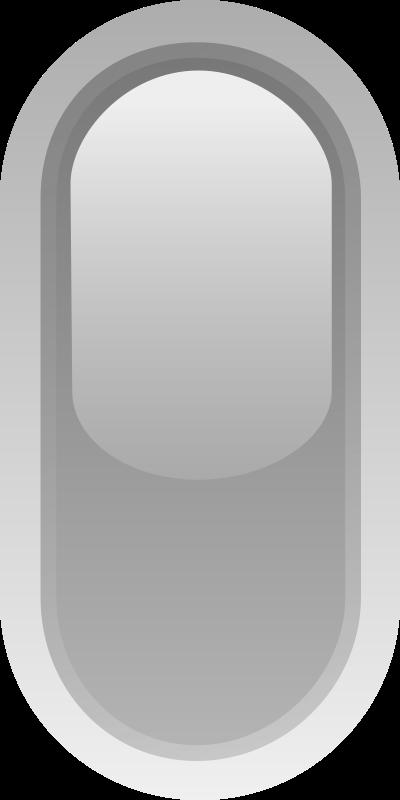 Free led rounded v grey