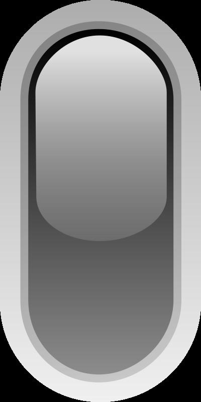 Free led rounded v black