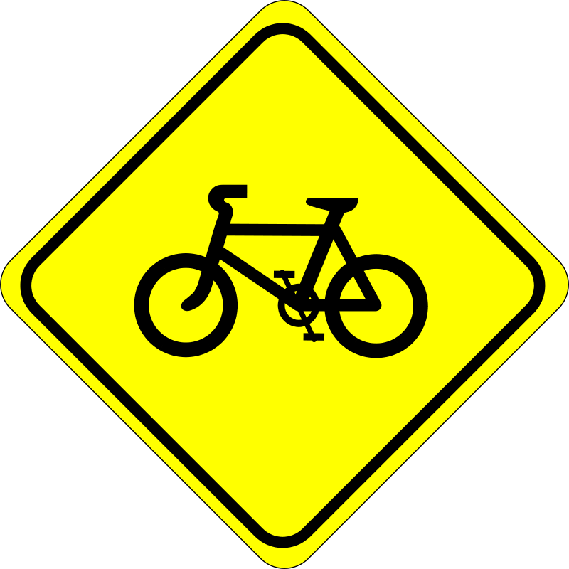 Free Roadsign watch for bicycles