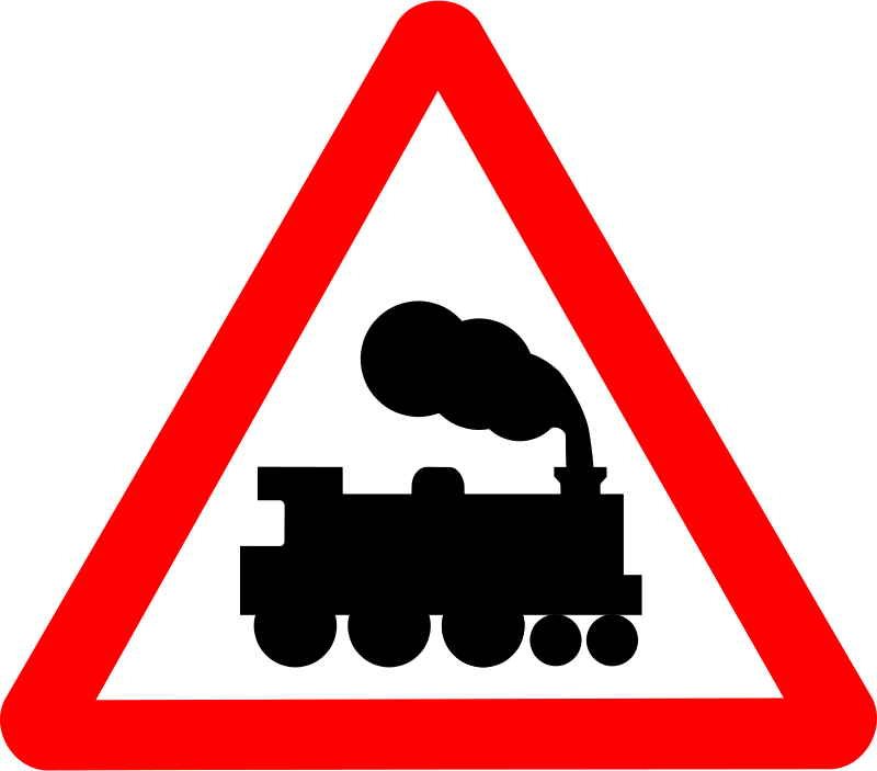 Free Roadsign train