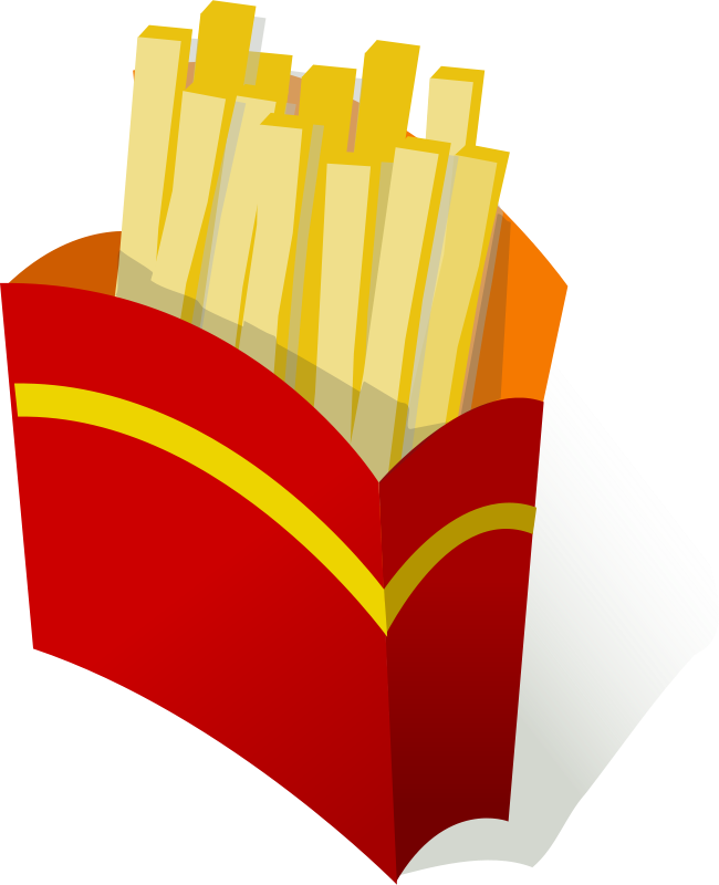 Free pommes frites / french fries