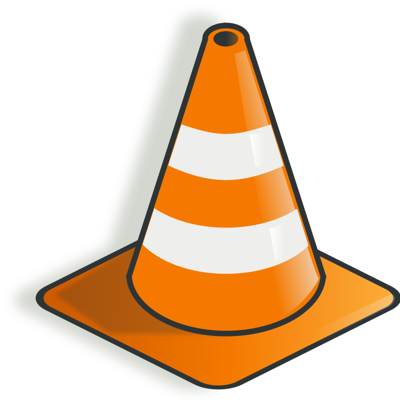 Free Clipart: Construction cone | rg1024