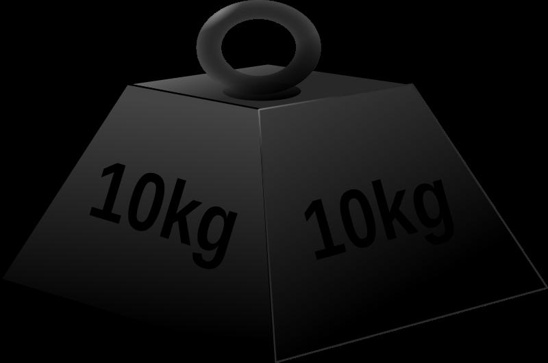 Free 10 kg weight