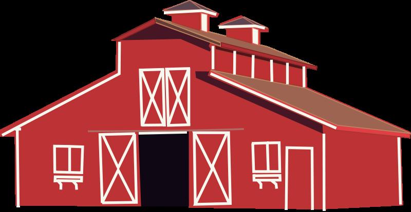 Free Red barn