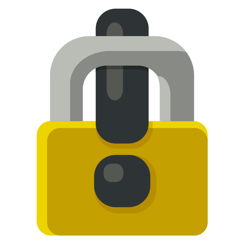 Free Locked Exclamation Mark - Padlock