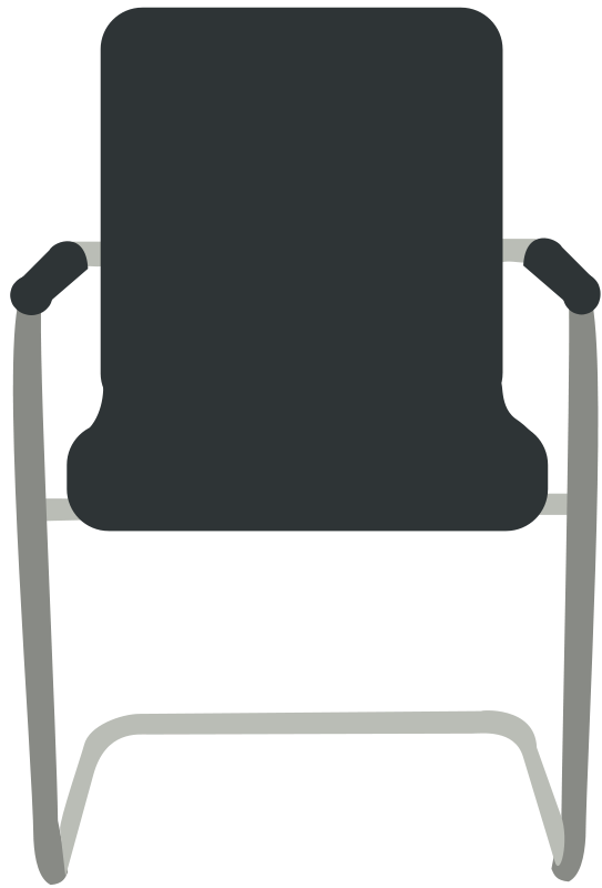 Free Desk Chair- Black