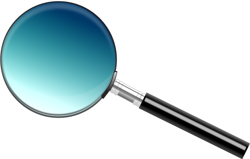 Free A simple magnifying glass