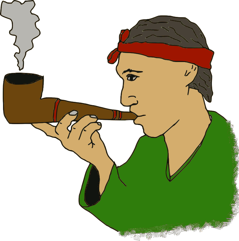 Free Man with a Pipe