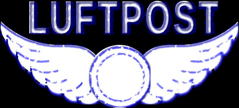 Free Vintage Luftpost Rubber Stamp