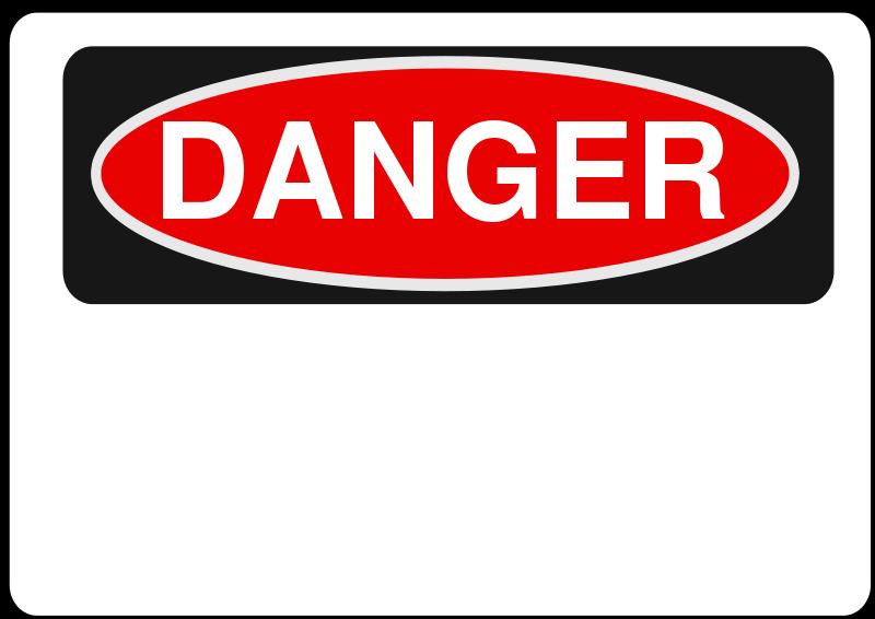 Free Danger - Blank