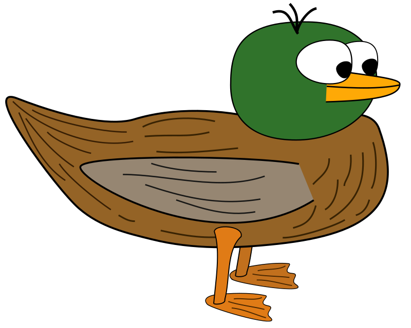 Free Cartoon Duck