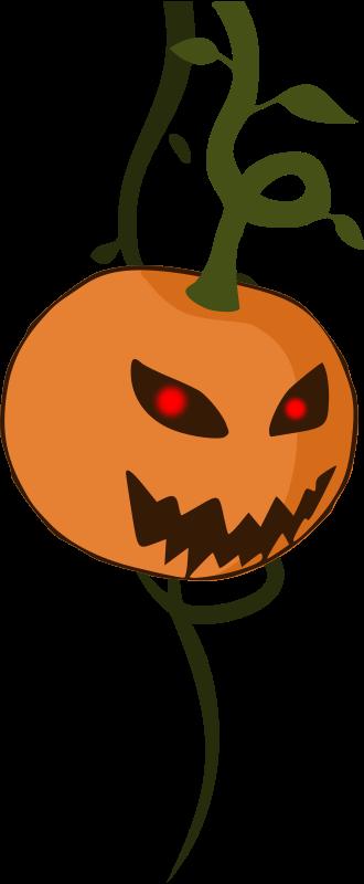 Free Cartoon jack-o'-lantern pumpkin