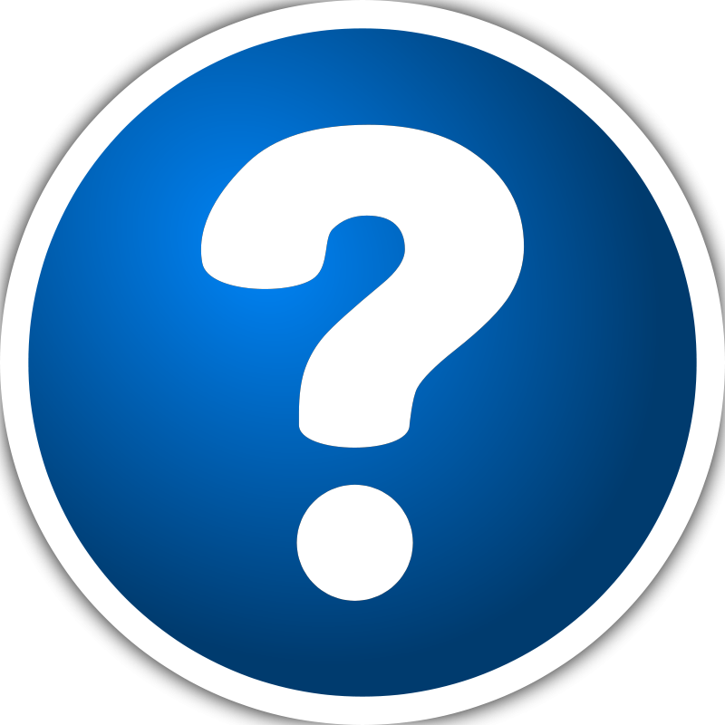Free Icon with question mark