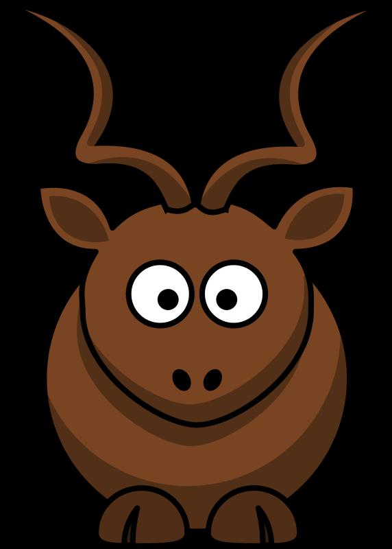 Free Cartoon kudu