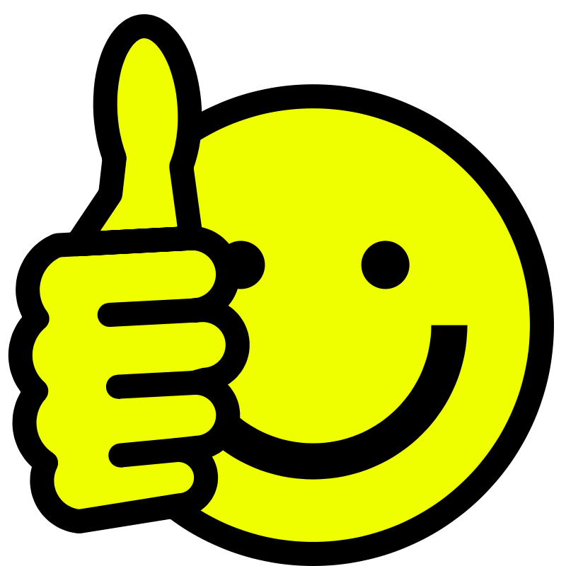 Free Thumbs up smiley