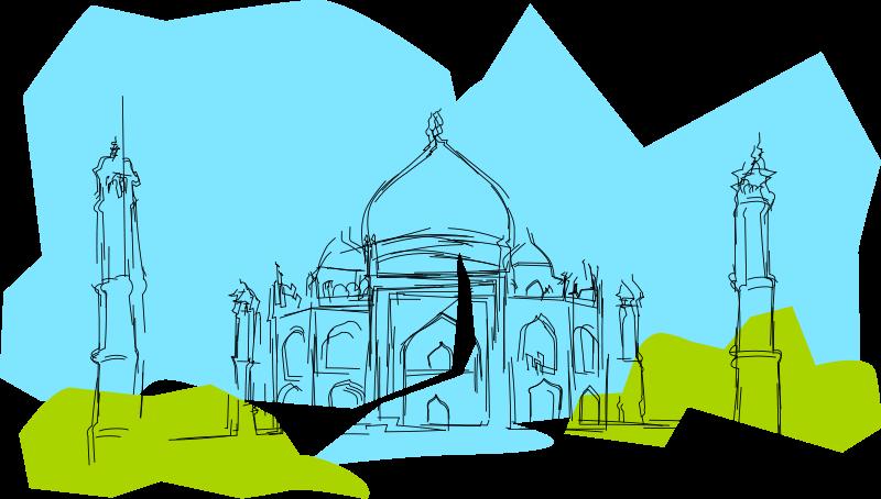 Free India The Taj Mahal