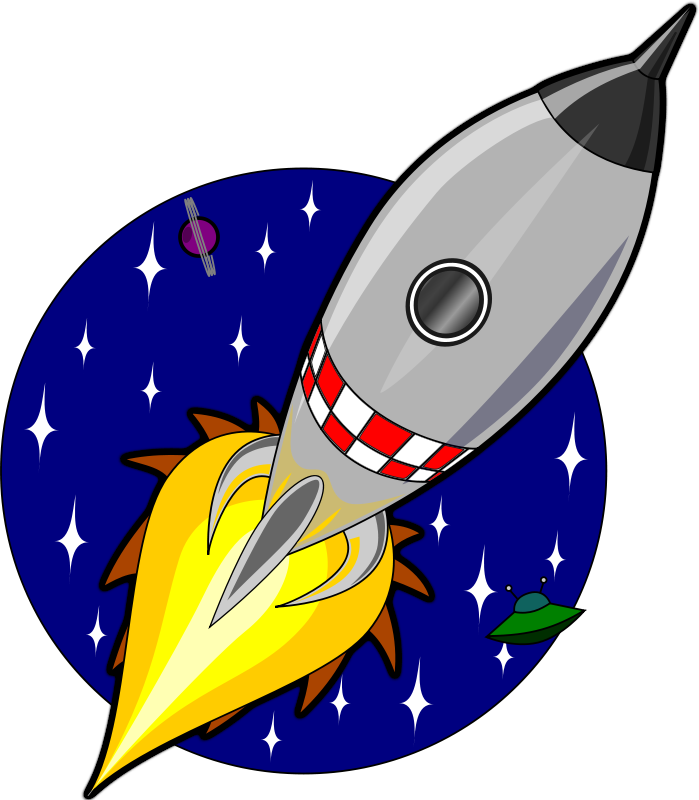 Free Cartoon rocket