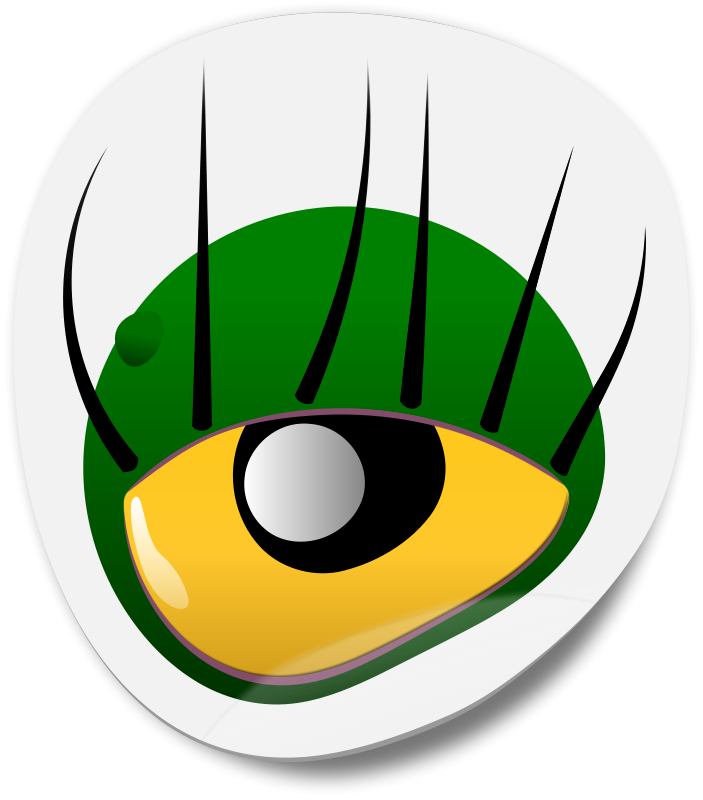Free Monster Eye Sticker 1