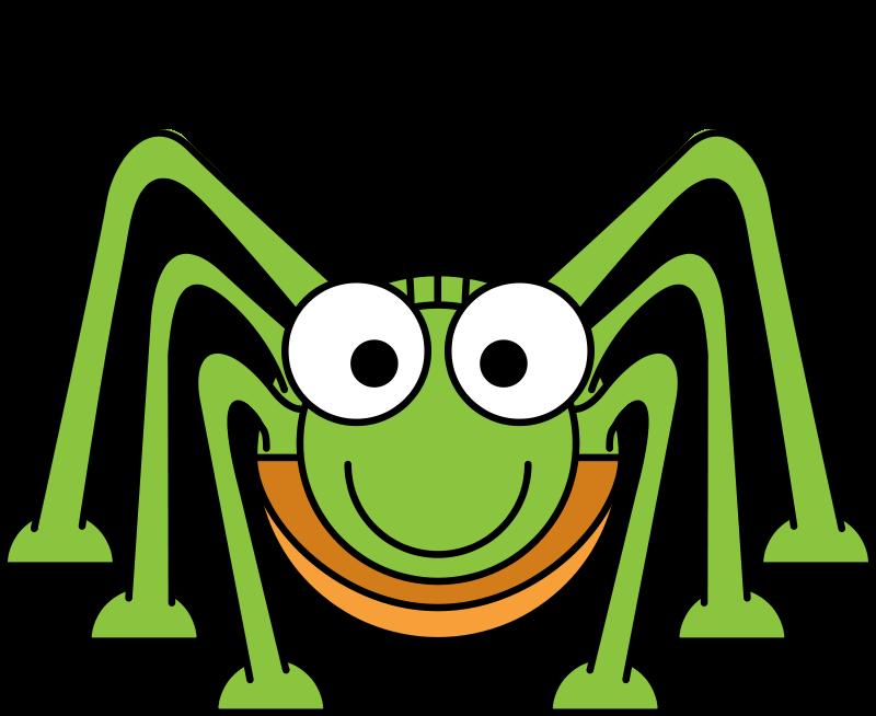 Free Cartoon Grasshopper