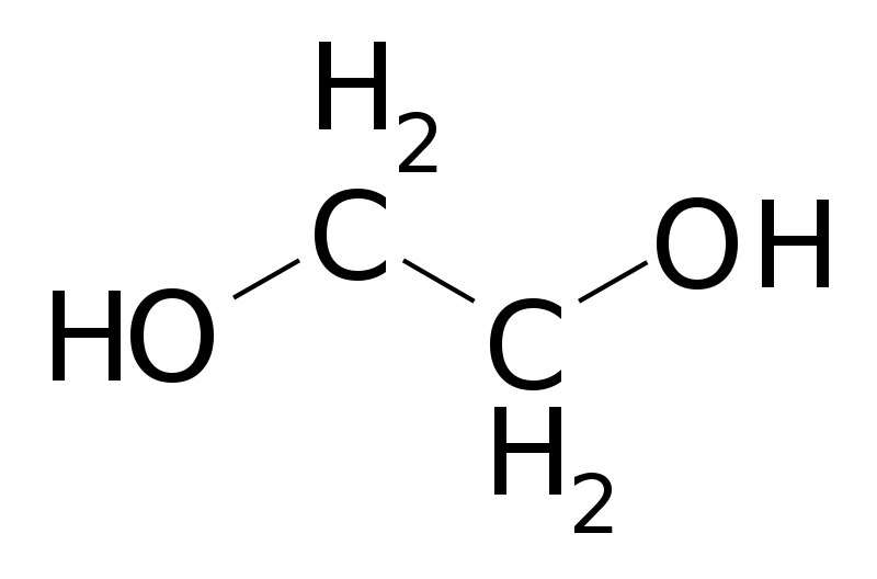 Free Ethylene glycol