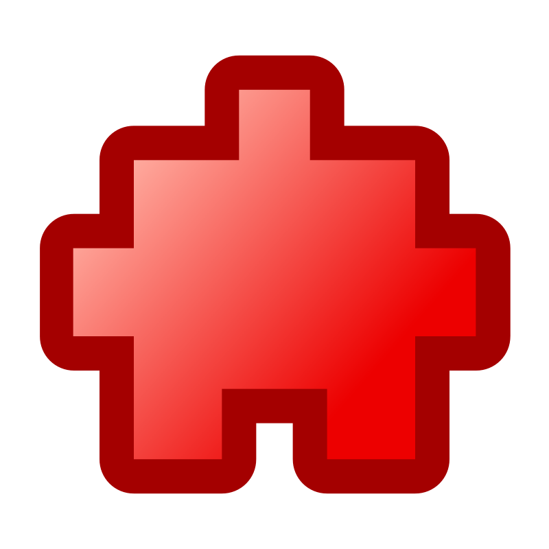 Free icon_puzzle2_red