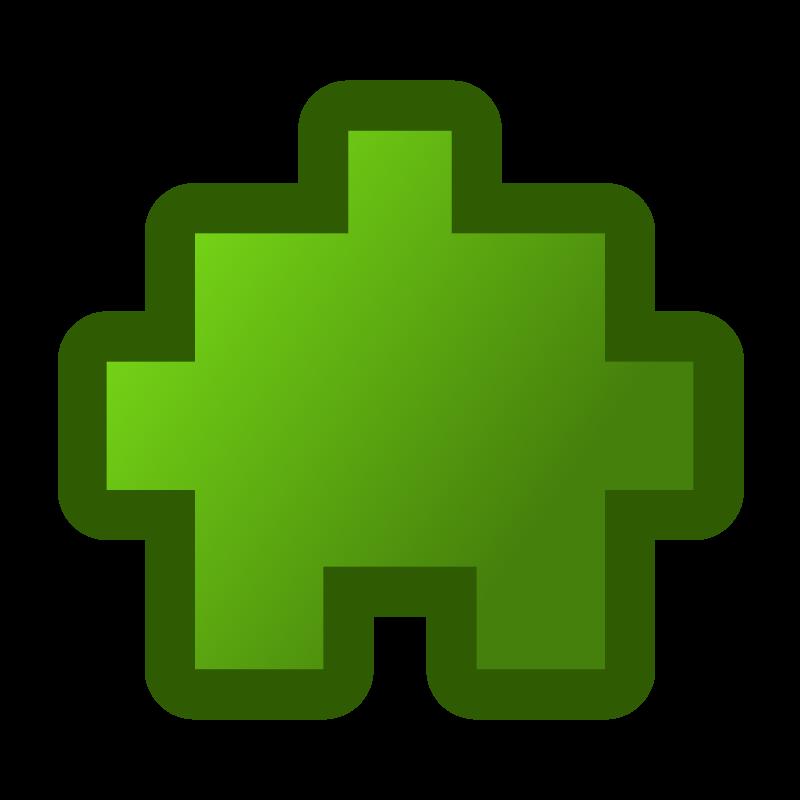 Free icon_puzzle2_green