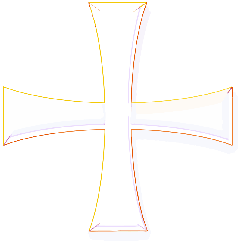 Free holy greek color cross