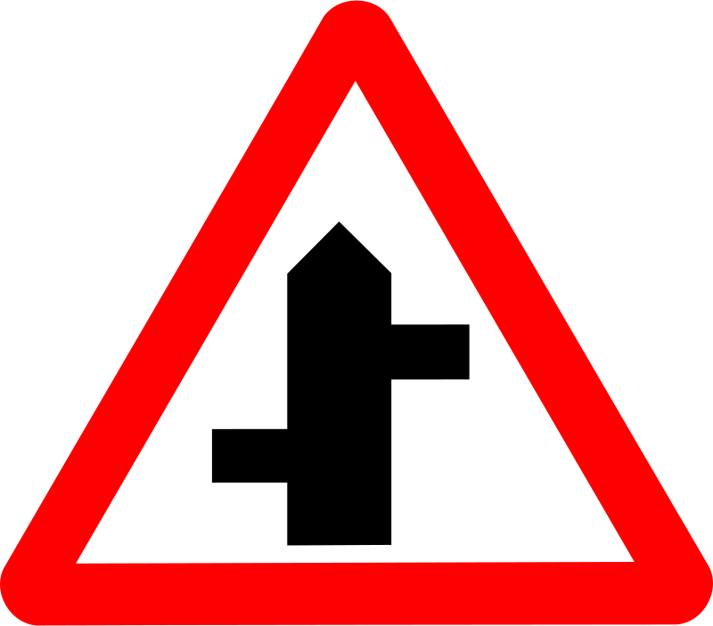 Free Roadsign staggered