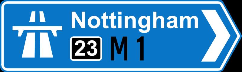 Free Roadsign Motorway on