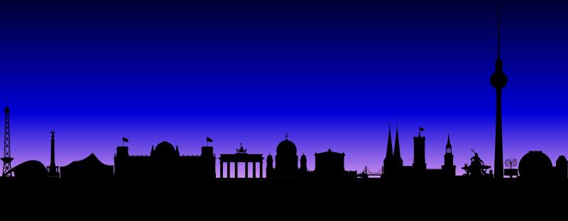 Free Berlin Skyline