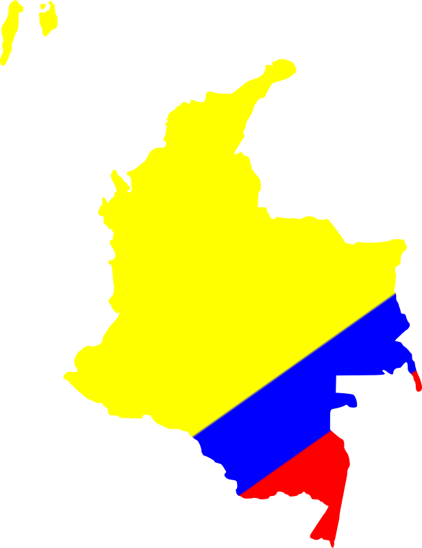 Free Map of Colombia