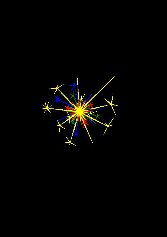 Free MultiColored Sparkle