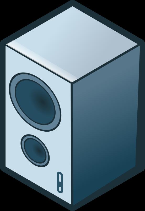 Free isometric loudspeaker