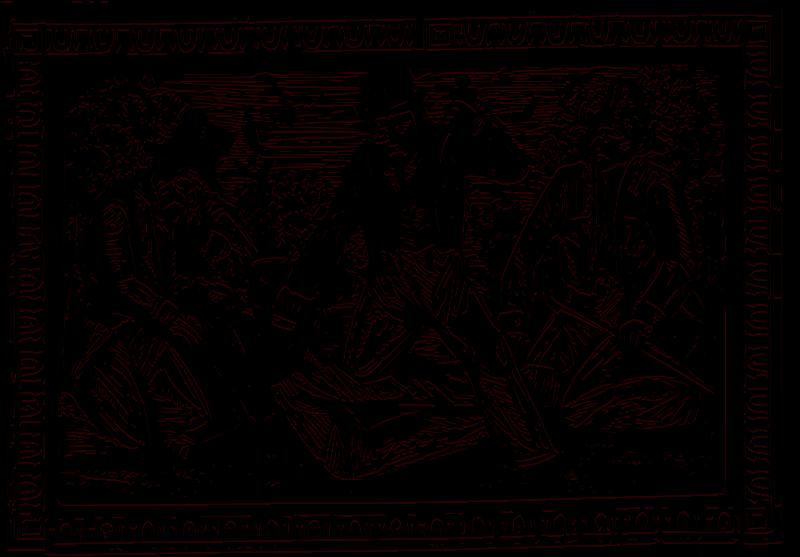 Free barbarous murder (2 color)