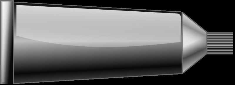 Free Greyscale paint tube