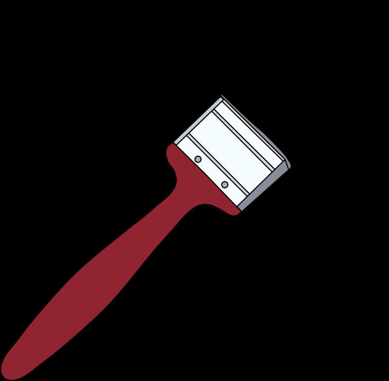 Free Red Paintbrush