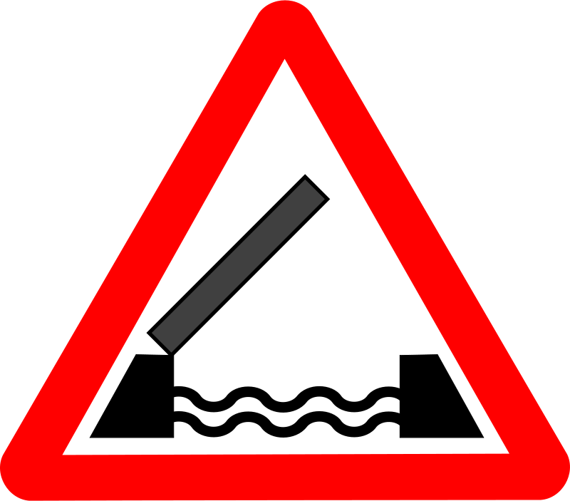 Free Roadsign Drawbridge