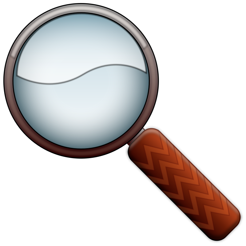 Free Magnifying Glass Color