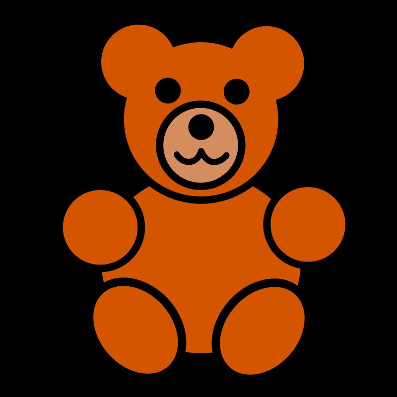 Free teddy bear icon