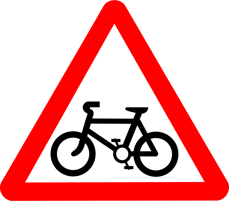 Free Roadsign Cycle route