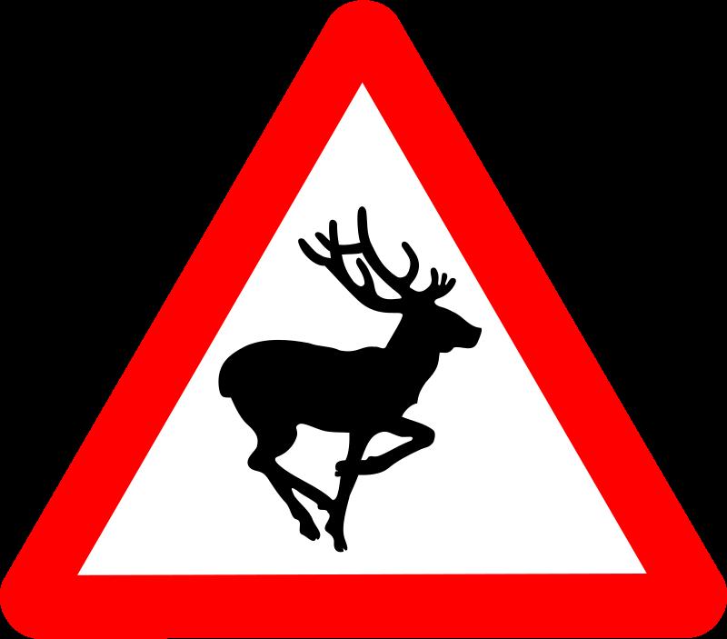 Free Roadsign Bambi