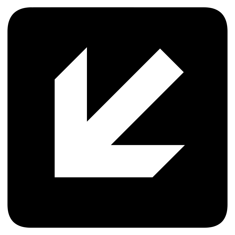 Free aiga left and down arrow