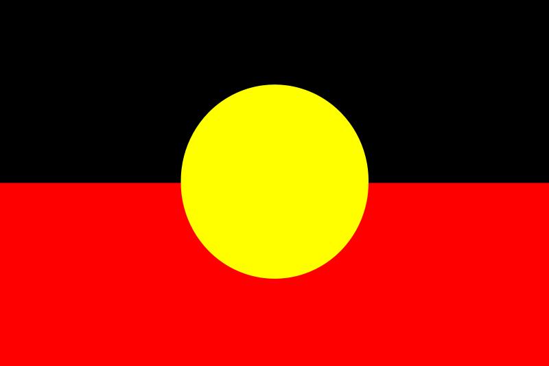 Free Flag of Australian Aborigines