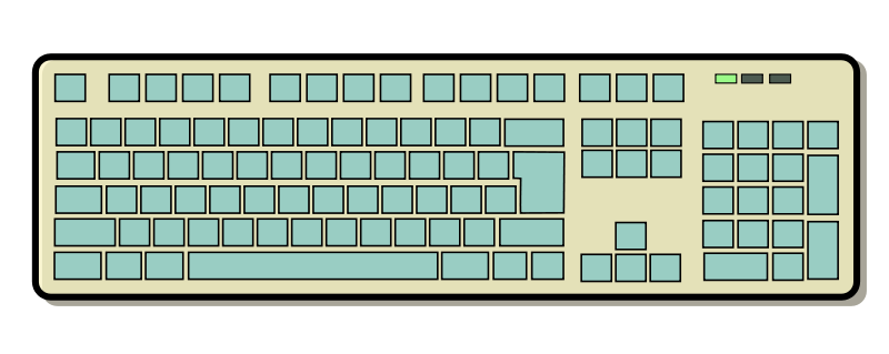 free clipart keyboard