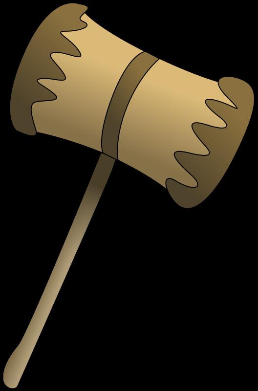 Free Wooden Mallet