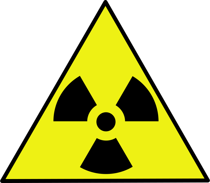 Free Nuclear warning sign