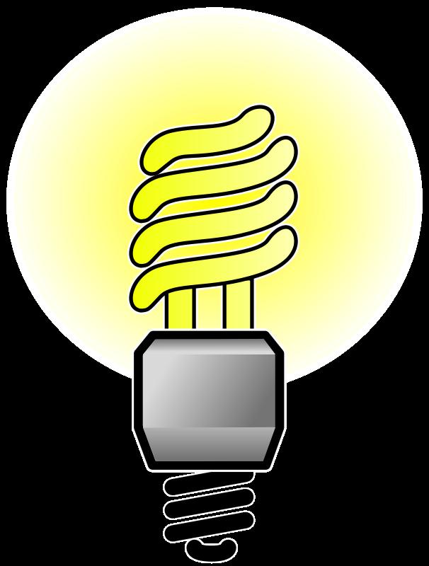 Free Energy Saver Lightbulb - Bright