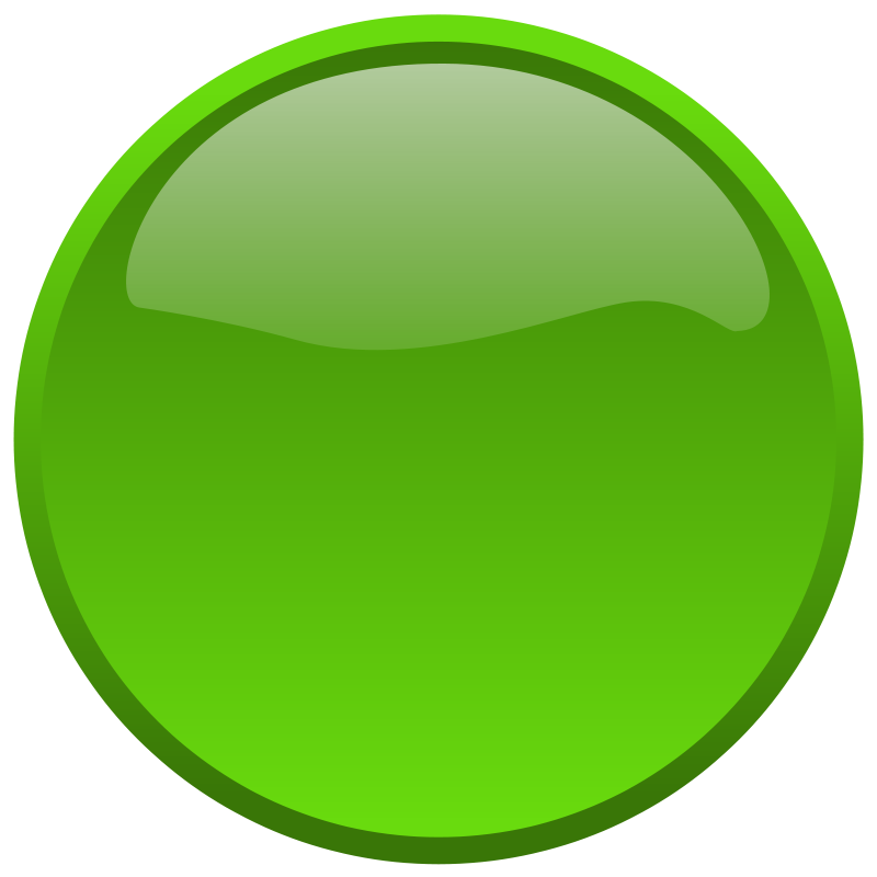 Circle green. Free clipart button anonymous