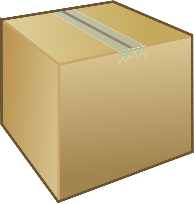 Free Cardboard box / package